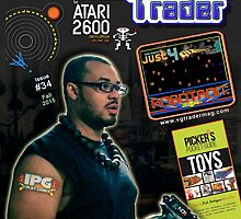 Video Game Trader #34 Cover Design by Vgtradermag