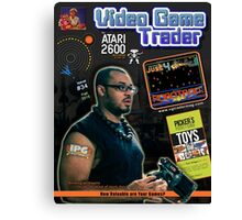 Video Game Trader #34 Cover Design Canvas Print