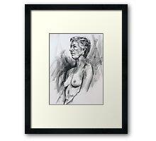 Life Drawing 20/11/2010 Framed Print