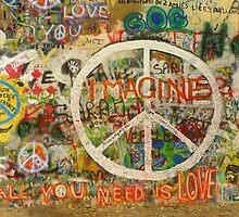 The Beatles John Lennon All You Need is Love Imagine by Tara Holland