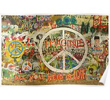 The Beatles John Lennon All You Need is Love Imagine Poster