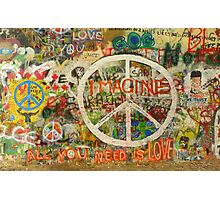 The Beatles John Lennon All You Need is Love Imagine Photographic Print