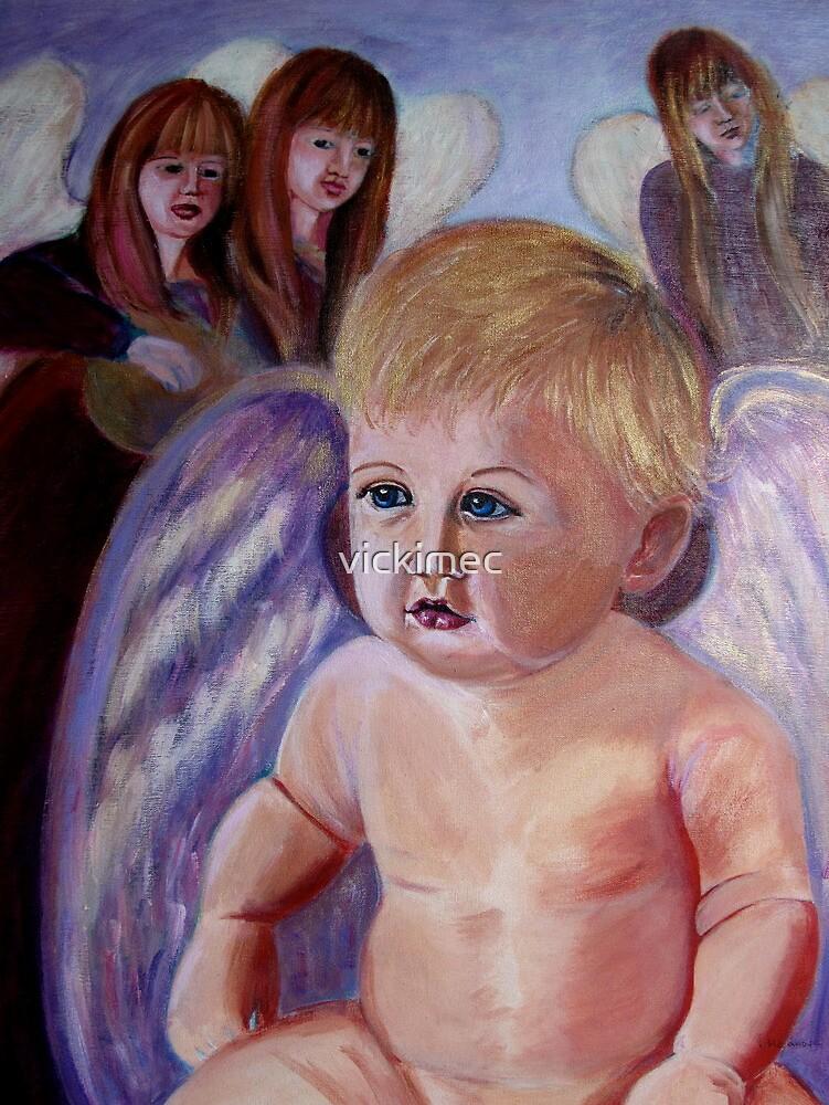Beautiful angel  by vickimec