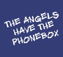 The Angels Have the Phonebox by Jayca
