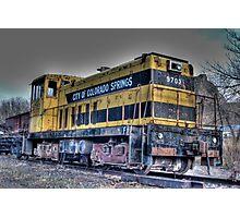 Engine 9703 Photographic Print