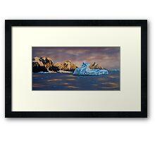 Last sunrise Framed Print