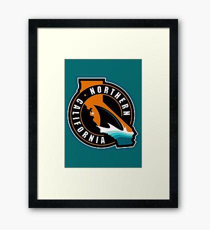 Sharks Framed Print