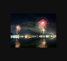 Fireworks on Kawaguchiko Lake Unisex T-Shirt