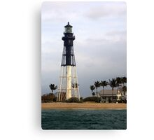 Coral Springs Lighthouse Canvas Print