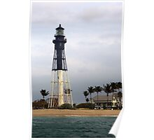 Coral Springs Lighthouse Poster