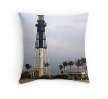 Coral Springs Lighthouse Throw Pillow