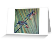 A two tui flax Greeting Card