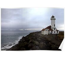 Port Townsend Lighthouse Poster