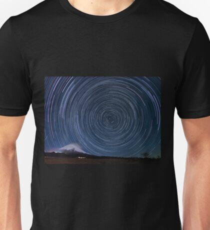 Startrails with Fujisan Unisex T-Shirt