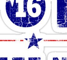 Vintage Vote Deez Nuts For President 2016 Sticker