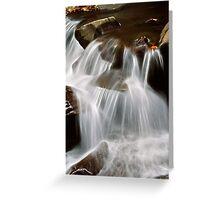Waterfall 3 Greeting Card