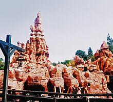 Disneyland's Big Thunder Mountain Railroad by KRISTINELISA3
