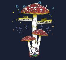 Haight Ashbury - Psychedelic Mushroom by GUS3141592