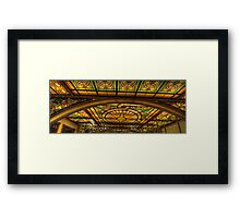 Glory #3  - National Mutual Building , Sydney Austtralia - The HDR Experience Framed Print