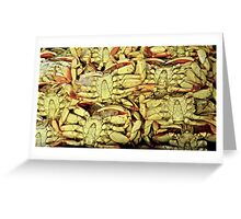 Dungeness Crabs Greeting Card