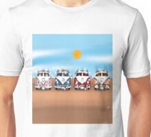 VW Campers on Holiday Unisex T-Shirt