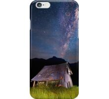 The barn at the end of the universe iPhone Case/Skin