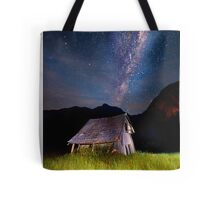 The barn at the end of the universe Tote Bag