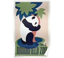 WPA United States Government Work Project Administration Poster 0257 Brookfield Zoo Panda Poster