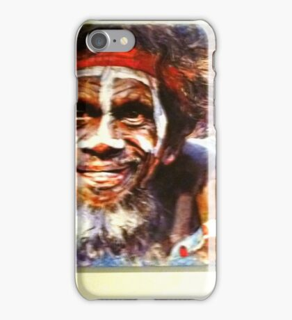 *Painting of Australian Aborigine - Daylesford Art Gallery - NOT FOR SALE* iPhone Case/Skin