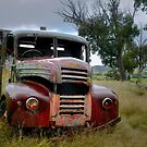 Resting, or rusting ... by Rosalie Dale
