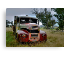 Resting, or rusting ... Canvas Print