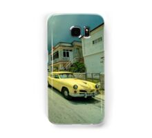 Yellow storm car  Samsung Galaxy Case/Skin
