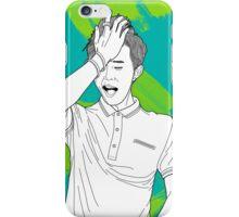 Line Illustration#GDragon-Roanne iPhone Case/Skin