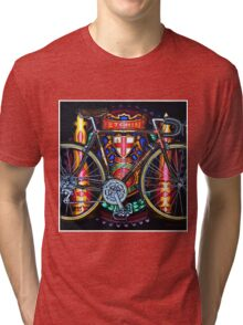 Hetchins Curly Bicycle Tri-blend T-Shirt