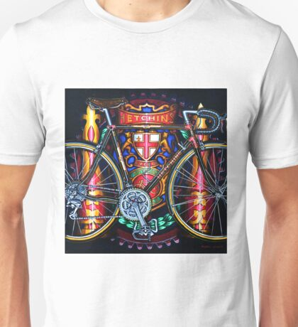 Hetchins Curly Bicycle Unisex T-Shirt