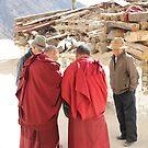 Consultation - Lhasa Tibet by Susan Moss