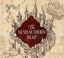 Harry Potter The Marauders Map by maspionkipas