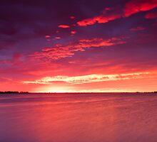 Heathcote Estuary Sunrise by Rob Dickinson