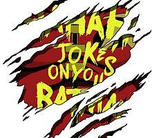Hahah Joke's on you Batman by mvpmike13