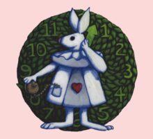 White Rabbit (Alice Version) by Donna Huntriss