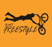 BMX Freestyle Retro T-Shirt by ImageMonkey