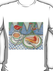 Bakewell Pudding and cup of tea at Eroica Britannia T-Shirt