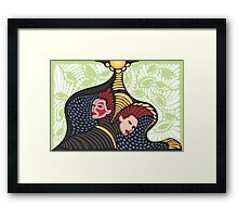 Bipolar (color) Framed Print