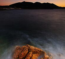Rocky Cape November Sunset by Garth Smith