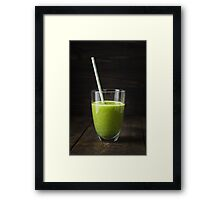 Smoothie in a glass Framed Print