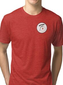 The Prisoner No. 6 Badge Tri-blend T-Shirt