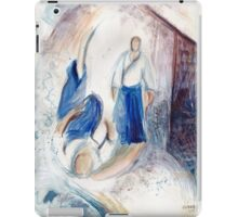 The wave came to me iPad Case/Skin