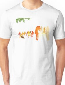 People in a cafe Unisex T-Shirt