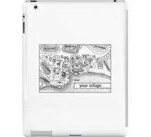 The Prisoner Village Map Design iPad Case/Skin