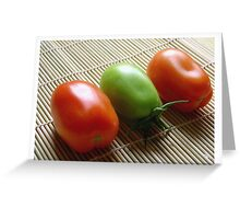 """Tomato Sushi"" Greeting Card"